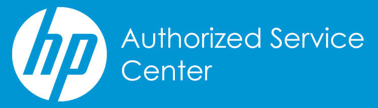 HP Authorized Service Center Logo