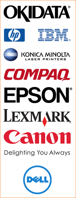 Printer brand logos