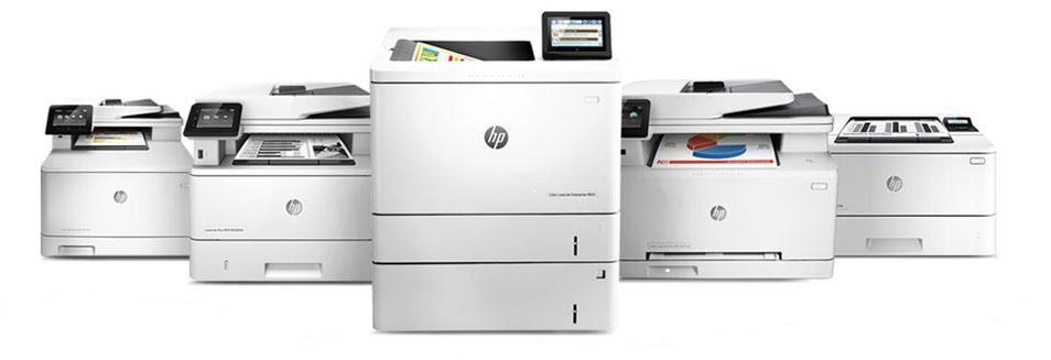 HP LaserJet family printers